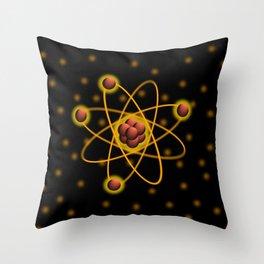 Atomic Structure Throw Pillow