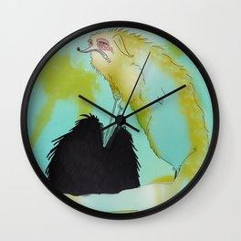 I Seek This Feeling Wall Clock