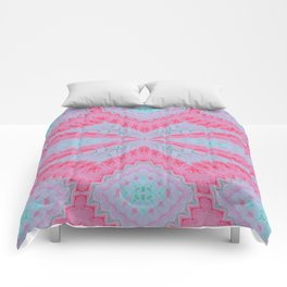 Pink Xray Pattern 3 Comforters