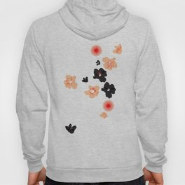 spotted blooms Hoody