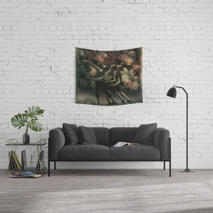 The Dancers Wall Tapestry