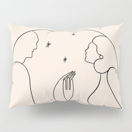 Dreamers no.3 (peach) Pillow Sham