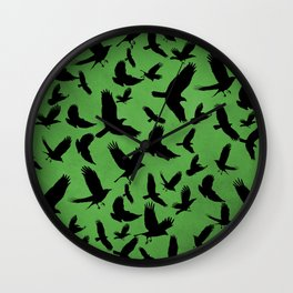 Morrigan's Murder Wall Clock