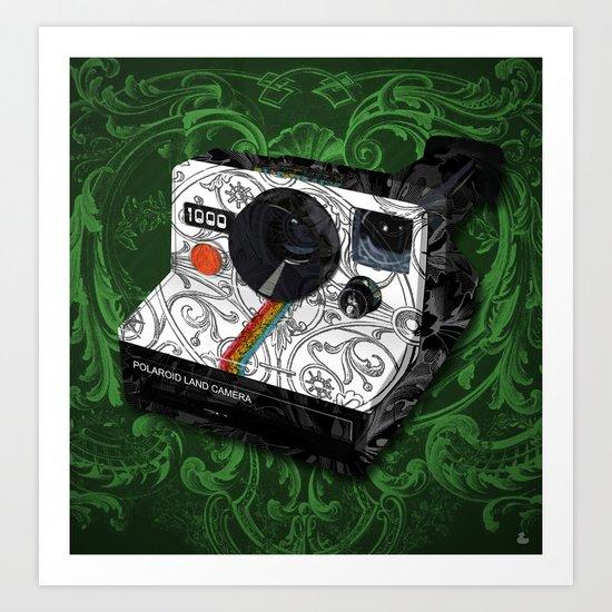 Horror Vacui - POLAROID Art Print