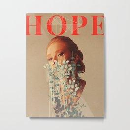 Growing Hope Metal Print