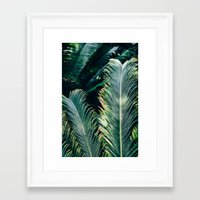 palm tree Framed Art Prints featuring Palm Tree by Pati Designs