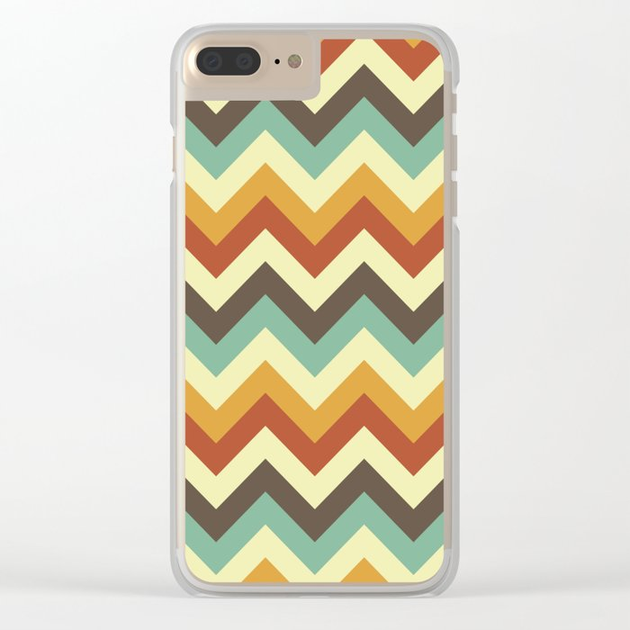 Zigzag Clear iPhone Case