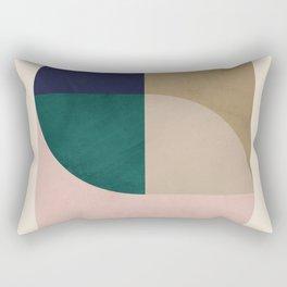 Turning Away Rectangular Pillow