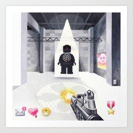 Target Practice Art Print