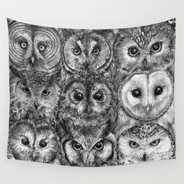 Owl Optics BW Wall Tapestry