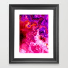 Pink Cocktail Framed Art Print