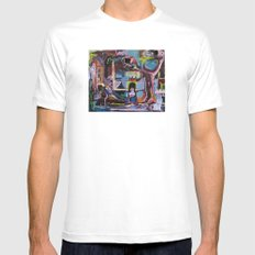 The Quest Mens Fitted Tee White MEDIUM