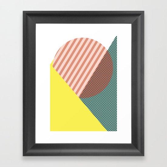 Minimal Complexity v.2 Framed Art Print