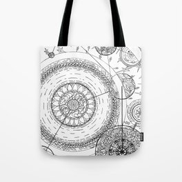 Movement of the Spheres 01 Tote Bag