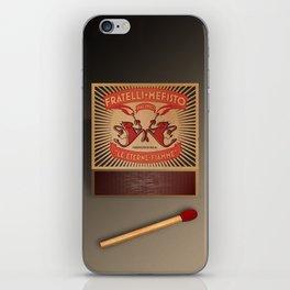 Fratelli Mefisto iPhone Skin