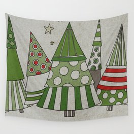 Day in the Winter Forest Wall Tapestry