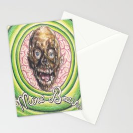 Tarman: More Brains! Stationery Cards