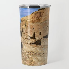 Pueblo Bonito in Chaco Canyon Travel Mug