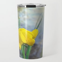 Lonely Flower Travel Mug