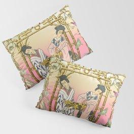 Geishas at the Gate Pillow Sham