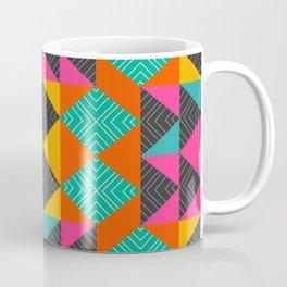 Bright multicolored shapes Coffee Mug