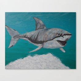 Sky Shark Canvas Print