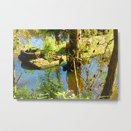 Reclaimed By Nature Metal Print