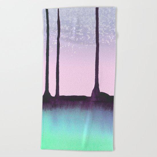 The woods Beach Towel