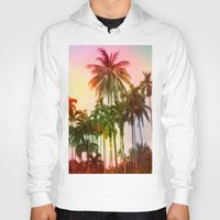 tropical Hoodies featuring tropical by mark ashkenazi