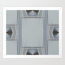Brown and Grey Tones of Eucalyptus 3 Art Print