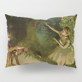 Ballet Rehearsal By Edgar Degas | Reproduction | Famous French Painter Pillow Sham