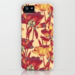 Tulips in Forever Golden iPhone Case