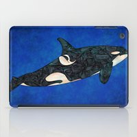 killer whale iPad Cases featuring Killer Whale by Ben Geiger