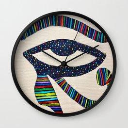 The Eye of Horus Wall Clock