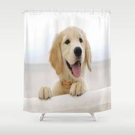 Love Dogs Dog Groomer Paw Print Grooming Cute Shower Curtain
