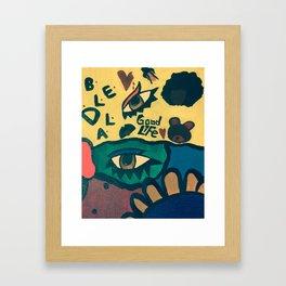 Good Life Framed Art Print