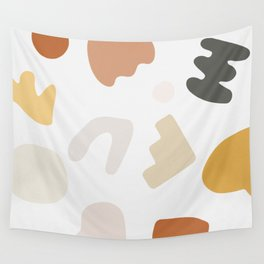 Abstract Shape Series - Autumn Color Study Wall Tapestry
