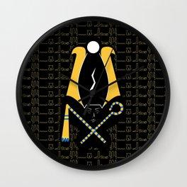 Osiris Wrath Wall Clock