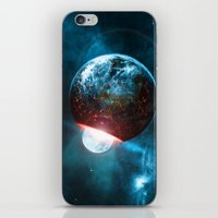 planet iPhone & iPod Skins featuring Planet by Floyd Triangle