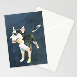 Husky Puppy Stationery Cards