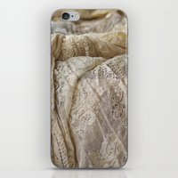 lace iPhone & iPod Skins featuring Lace by Jillian Audrey