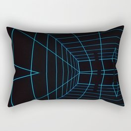 Tron Lines Rectangular Pillow
