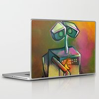 wall e Laptop & iPad Skins featuring WALL-E by tidlin