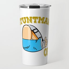 Cute and attractive tee design for your stuntman friend! Makes a nice gift this holiday too!  Travel Mug