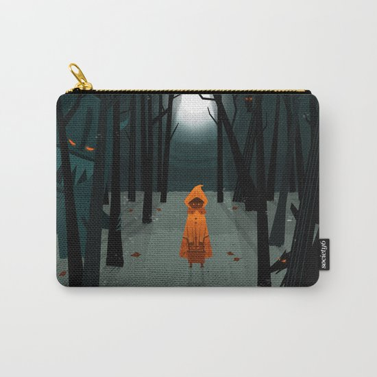 Woods Girl Carry-All Pouch