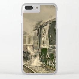 Lancashire Bulleid Clear iPhone Case