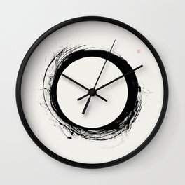 Eclipse (West Meets East Series) Wall Clock