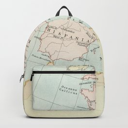 Vintage Map Of The Roman Empire Backpack