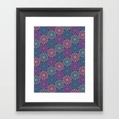 PAISLEYSCOPE peacock Framed Art Print