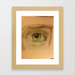 Wandering Eye Framed Art Print